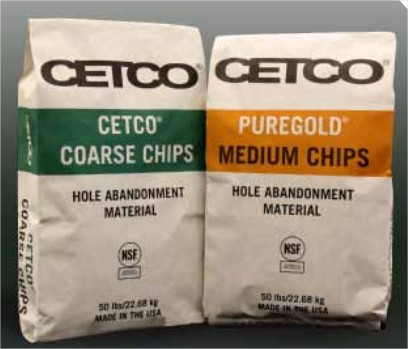 Bentonite 3/8 granulaire Cetco