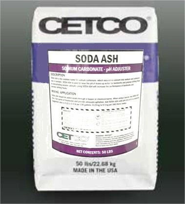 Cetco Soda Ash -Carbonate de Sodium
